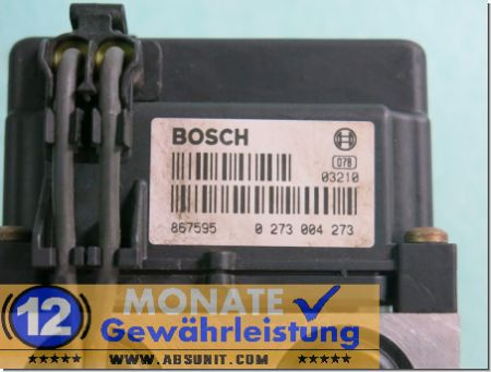 Bloc ABS Calculateur 46474832 0265216549 Bosch 0273004273 Fiat Palio Siena