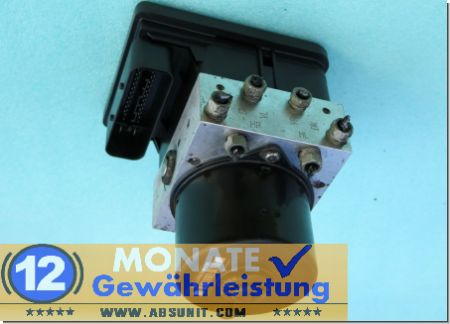 Bloc ABS hydraulique calculateur 5530163 93191519 Opel Astra Zafira