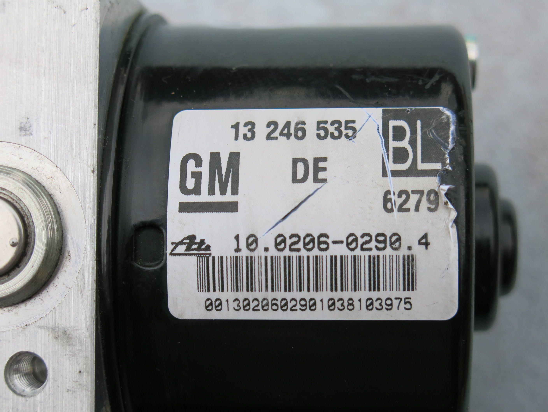 OPEL ZAFIRA ASTRA ABS PUMP 13246535 BL 10.0206-0290.4 10.0960-0554.3