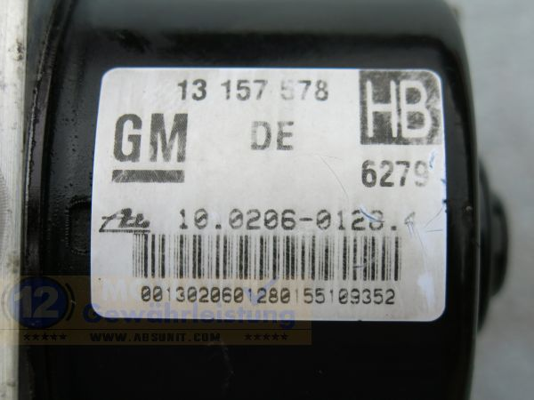 Pompa ABS 13157578 HB 10.0206-0128.4 Ate 10.0960-0518.3 Astra-H Zafira-B