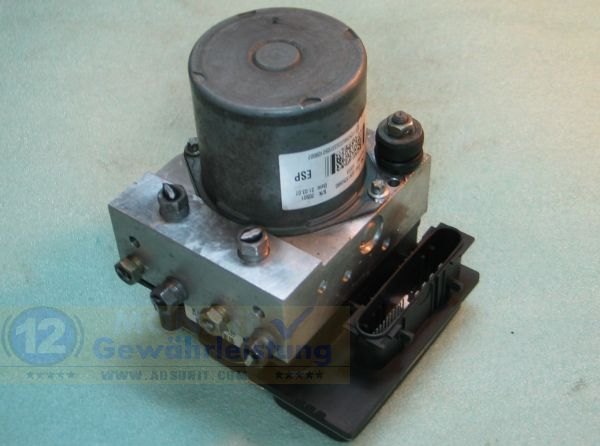 Bloc ABS hydraulique calculateur 71736992 Bosch 0265234069 Fiat Ducato
