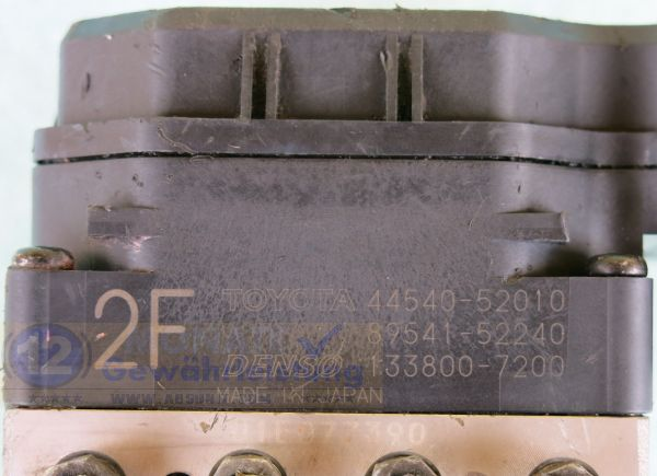 ABS Unit 44540-52010 8954152240 Denso 133800-7200 Toyota Yaris